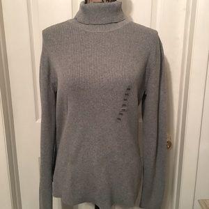 🌟Leo &Nicole Heather Gray Turtle Neck Sweater XXL